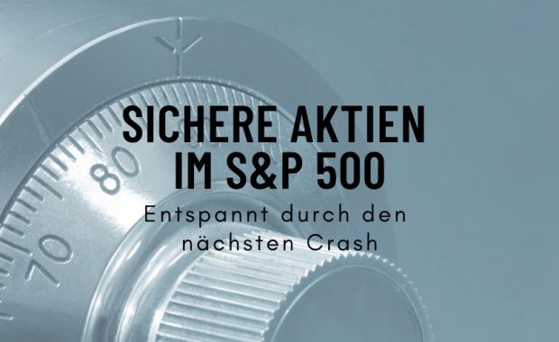 Sichere Aktien - Stabile Aktien 2021 - Unsere Empfehlungen